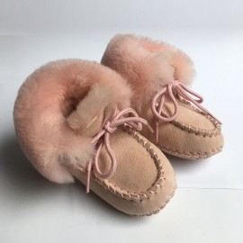 New Zealand Boots Baby booty rose outlet
