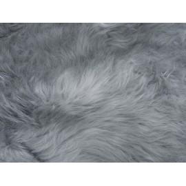 New Zealand Boots Lammeskind lang uld light grey