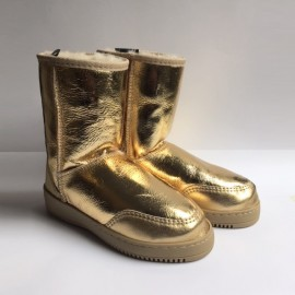 New Zealand Boots Short gold