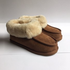New Zealand Boots slipper cognac