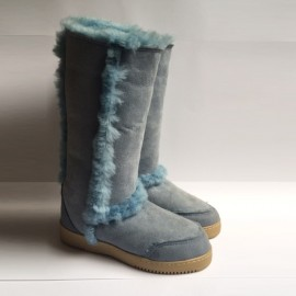 New Zealand Boots standard fluffy light blue