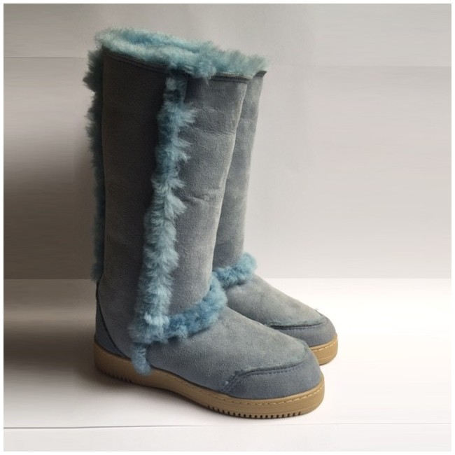 New Zealand Boots standard fluffy light blue