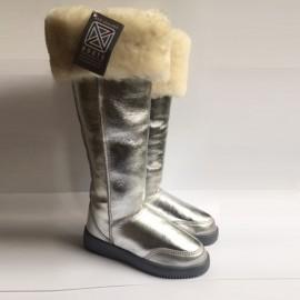 New Zealand Boots musketeer silver