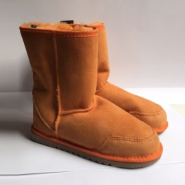 New Zealand Boots Short orange - outlet