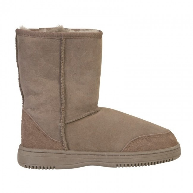 New Zealand Boots Short taupe