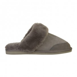 New Zealand Boots Open slipper grey