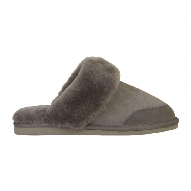 New Zealand Boots Open slipper grey