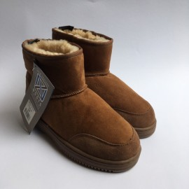 New Zealand Boots Ultrashort cognac OUTLET 38