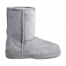 New Zealand Boots Short light grey