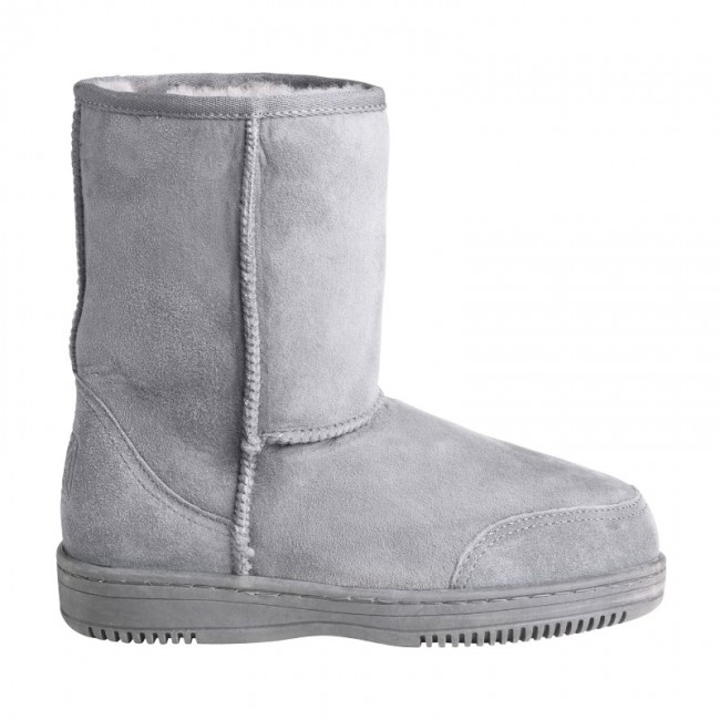 New Zealand Boots Short light grey