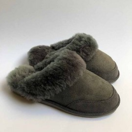 New Zealand Boots Womens slipper grey outlet