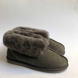 New Zealand Boots folded slipper grey outlet 39