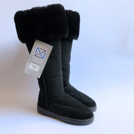 New Zealand Boots Musketeer black outlet 38(3)