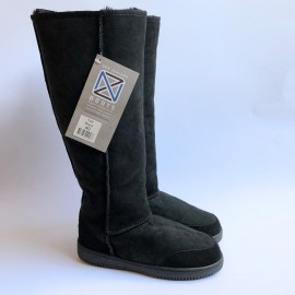 New Zealand Boots Tall Black outlet 40