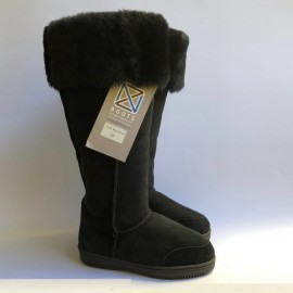 New Zealand Boots Musketeer black outlet 37