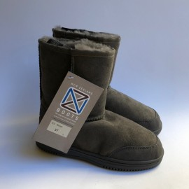 New Zealand Boots Short dark grey outlet 37