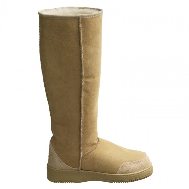 New Zealand Boots Tall Sand