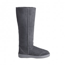 New Zealand Boots Tall dark grey