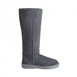 New Zealand Boots Tall dark grey