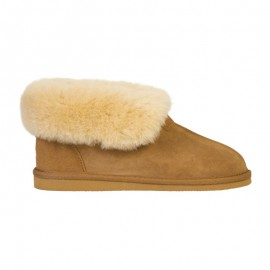 New Zealand Boots Classic slipper cognac