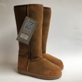 New Zealand Boots Tall cognac outlet