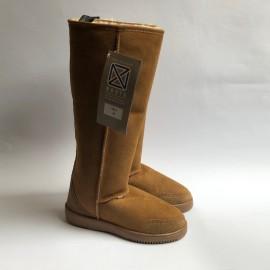 New Zealand Boots Tall Cognac OUTLET