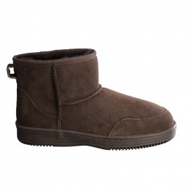 New Zealand Boots Ultra short coffee