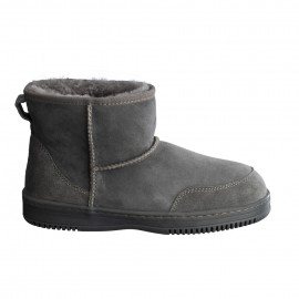New Zealand Boots Ultra short dark grey