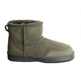 New Zealand Boots Ultra short army