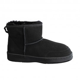 New Zealand Boots Ultra short black