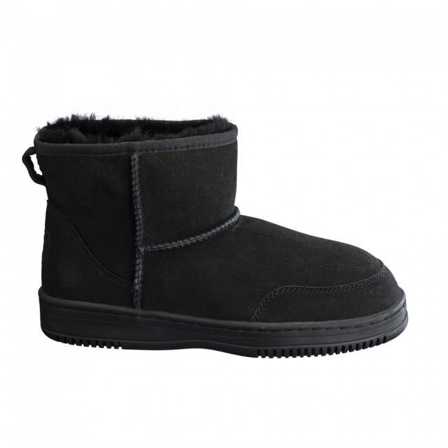 New Zealand Boots Ultra short black