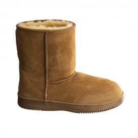 New Zealand Boots Short cognac