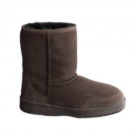 New Zealand Boots Short Coffee