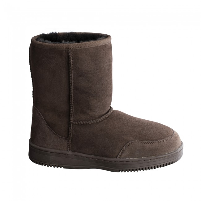 New Zealand Boots Short Coffee