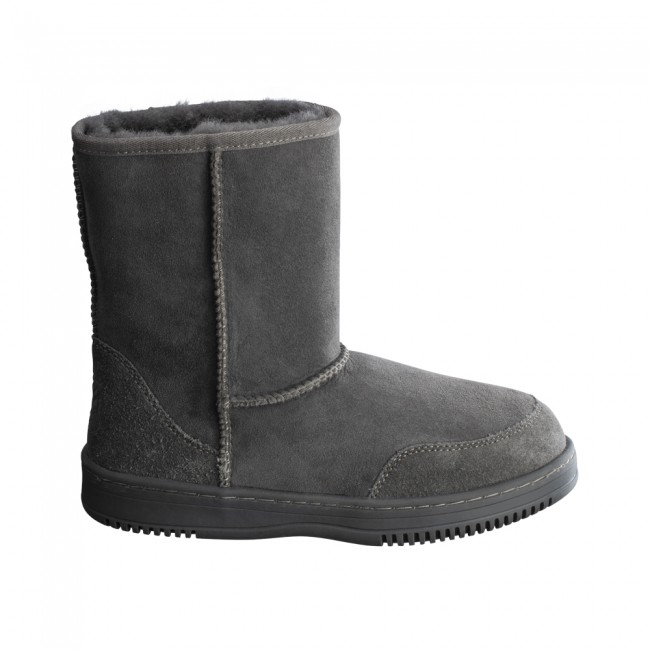 New Zealand Boots Short dark grey