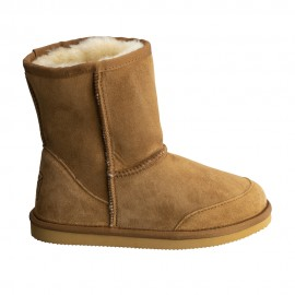 New Zealand Boots Kids short cognac