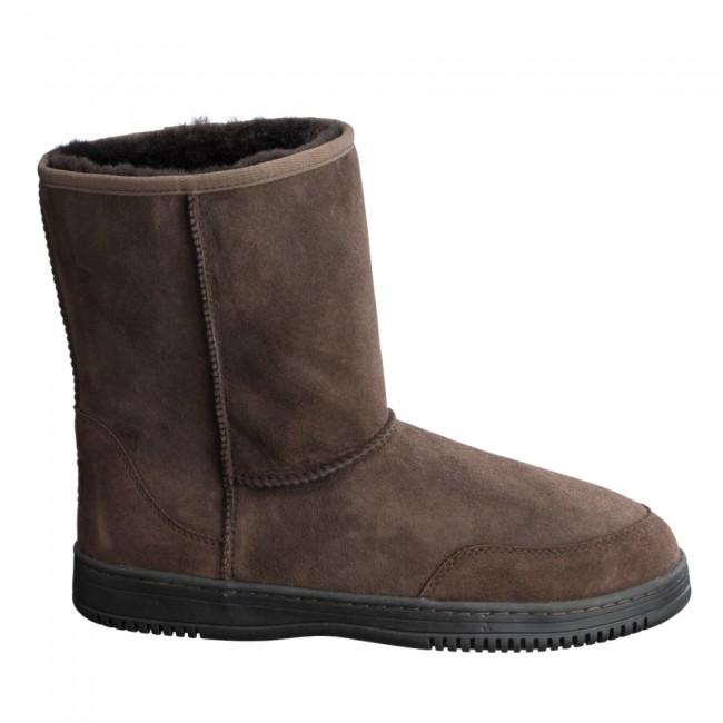 New Zealand Boots Mens short coffee