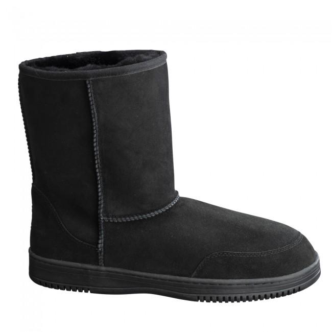 New Zealand Boots Mens short black