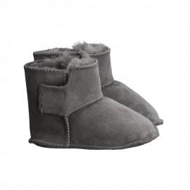 New Zealand Boots Baby slippers dark grey