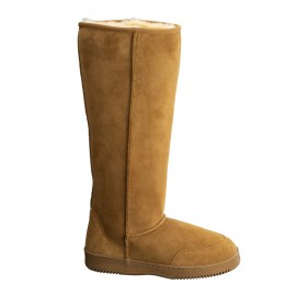 New Zealand Boots Tall Cognac