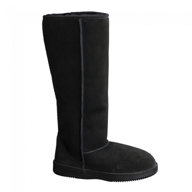 New Zealand Boots Tall black