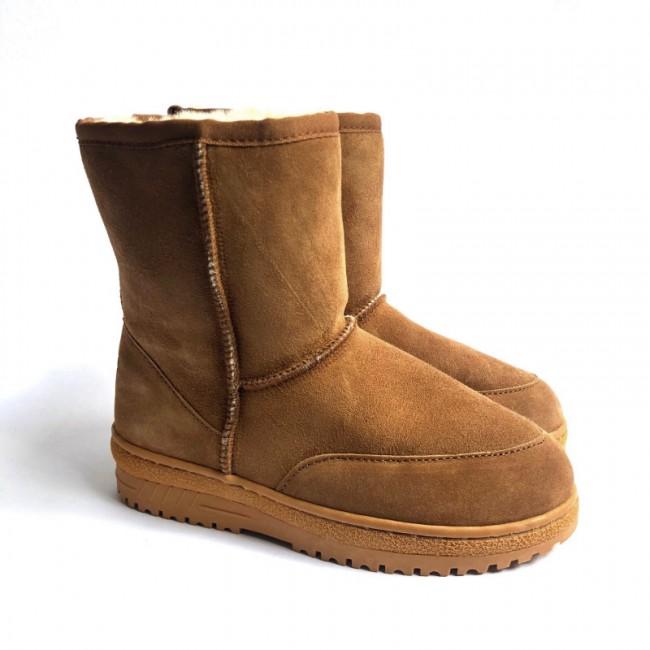 New Zealand Boots Short cognac OUT256