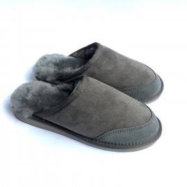 New Zealand Boots Womens slipper grey outlet OUT262