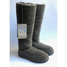 New Zealand Boots Tall grey outlet OUT265