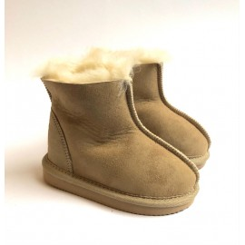 New Zealand Boots Kids Classic Hjemmesko sand XS