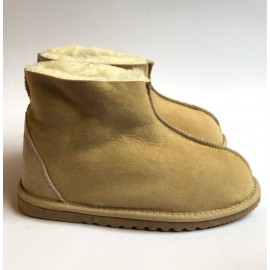 New Zealand Boots Kids Classic hjemmesko sand OUTLET