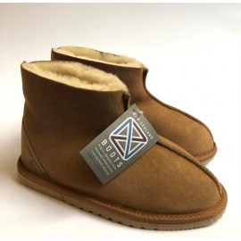 New Zealand Boots Kids Classic hjemmesko cognac OUTLET