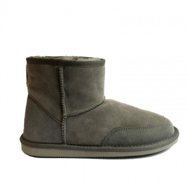 New Zealand Boots Indoor/Summer Ultra Short Dark Grey