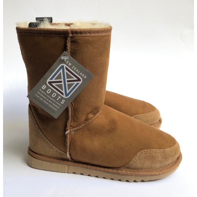 New Zealand Boots Indoor/Summer Cognac 36 OUTLET