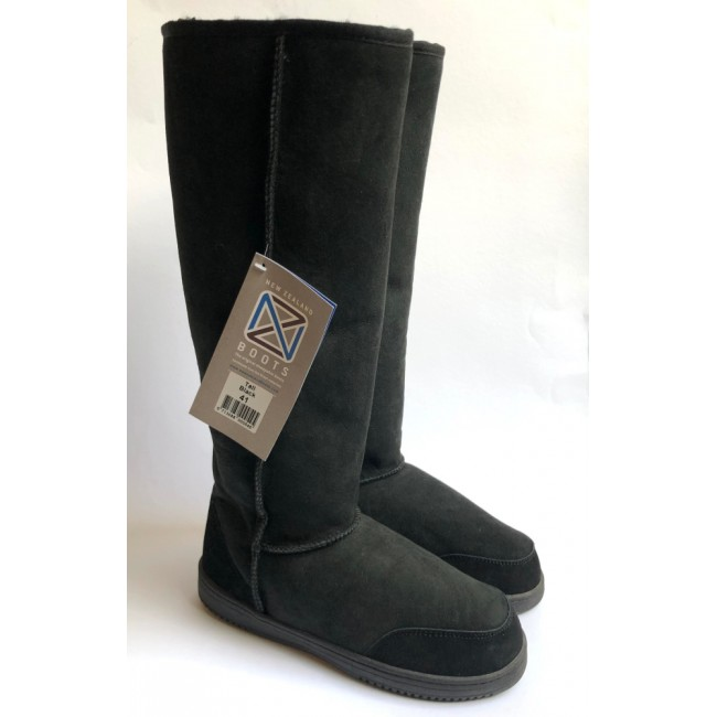 New Zealand Boots Tall black OUTLET 41
